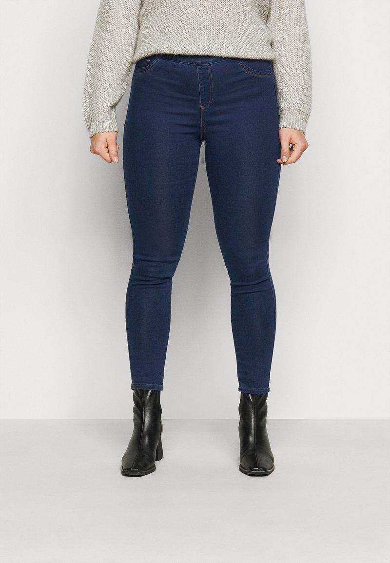 CAPSULE by Simply Be - SCULPTING JEGGINGS - Jeans Skinny Fit - indigo