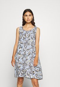 Freequent - Day dress - chambray blue mix - 0