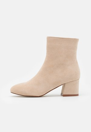 HELEN - Classic ankle boots - cream