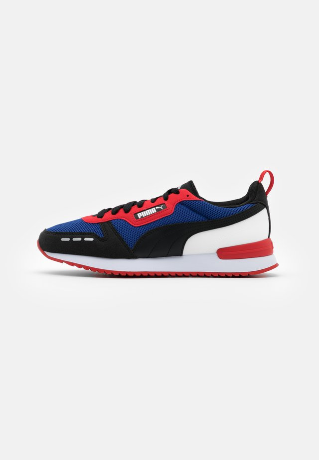 R78 UNISEX - Trainers - limoges/black/high risk red