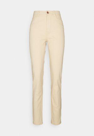 PCKESIA MOM - Jeans Skinny Fit - beige