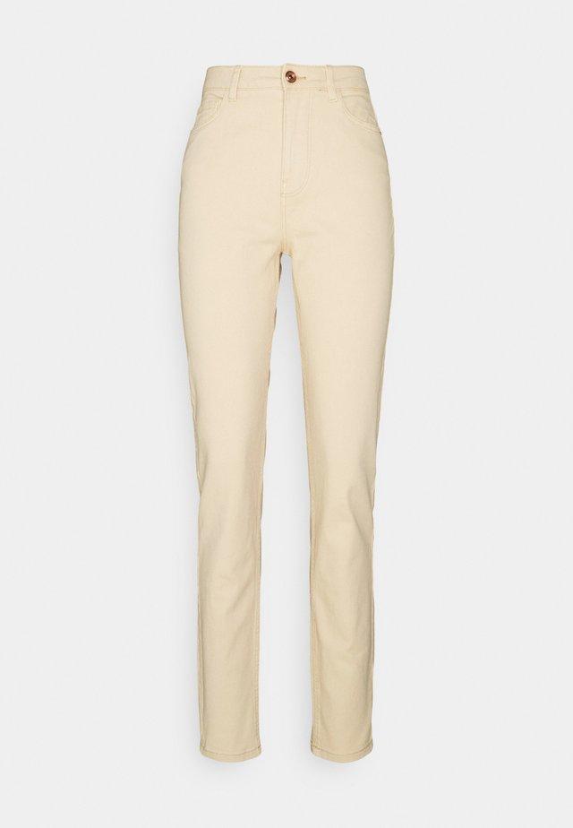 PCKESIA MOM - Jeans Skinny Fit - beige