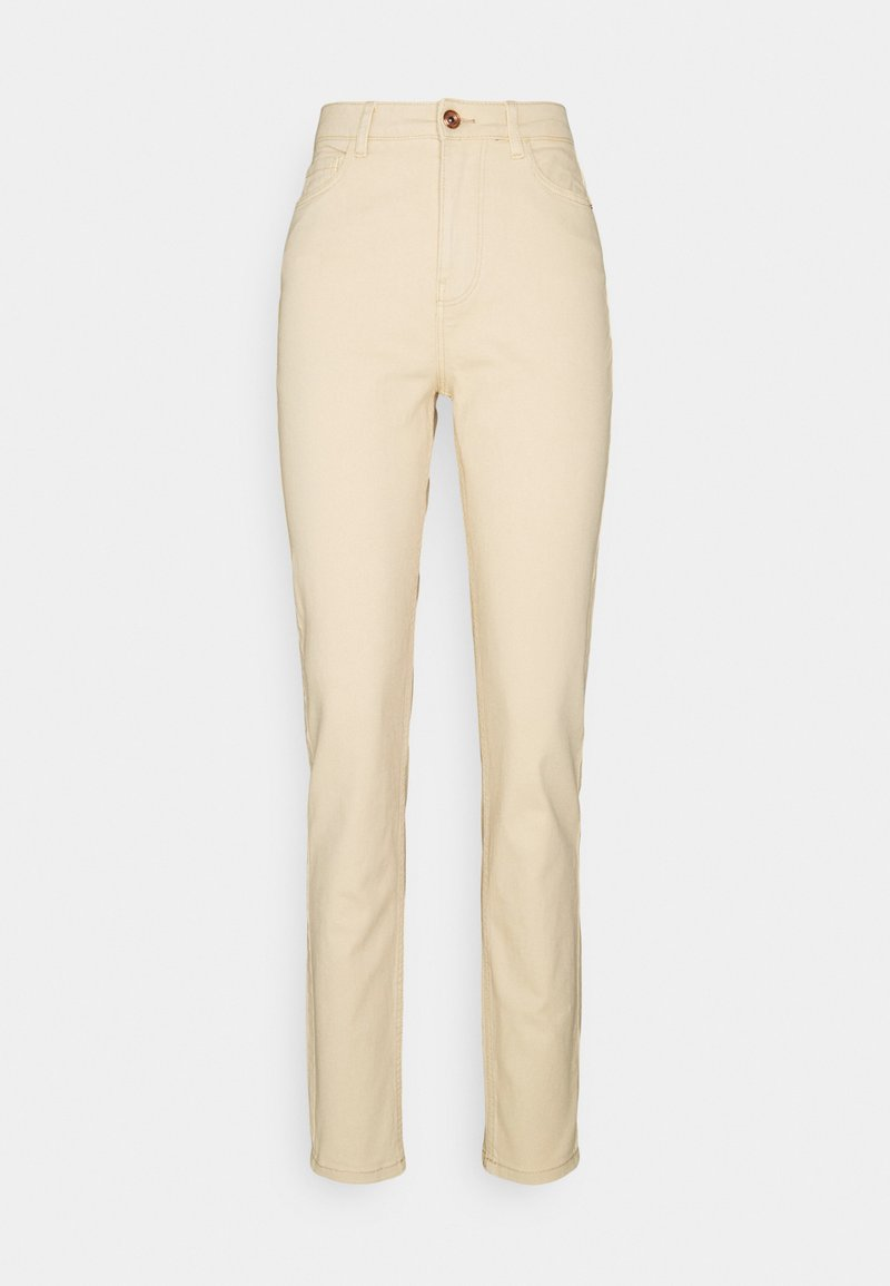 Pieces Petite - PCKESIA MOM - Jeans Skinny Fit - beige