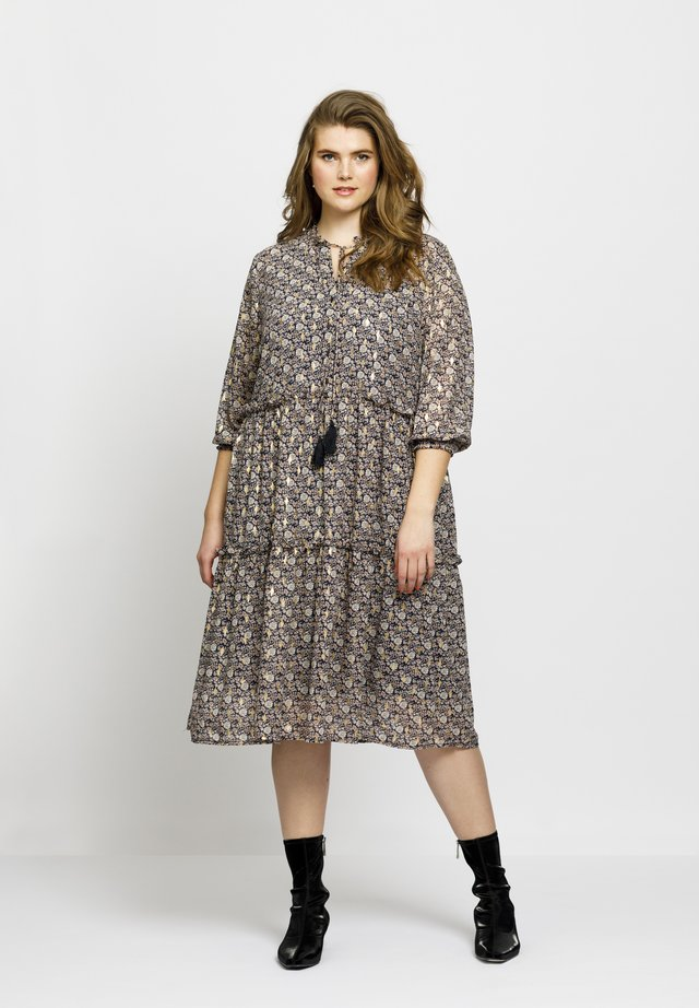 ASTRID - Shirt dress - dark blue