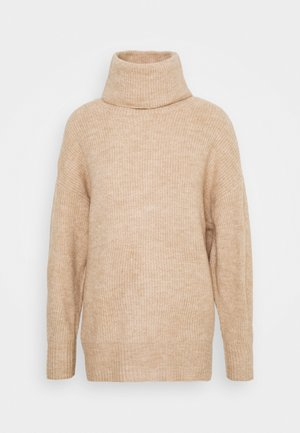 FASH SLOUCH ROLL - Jumper - camel