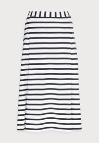 Marc O'Polo - JERSEY SKIRT - A-line skirt - multi/dark blue - 3
