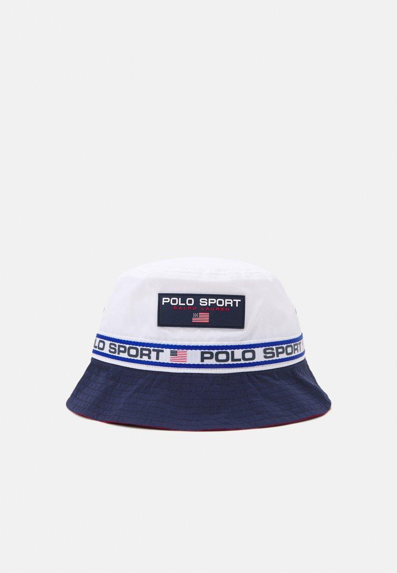 Polo Ralph Lauren - FREESTYLE BUCKET UNISEX - Hat - pure white/newpor