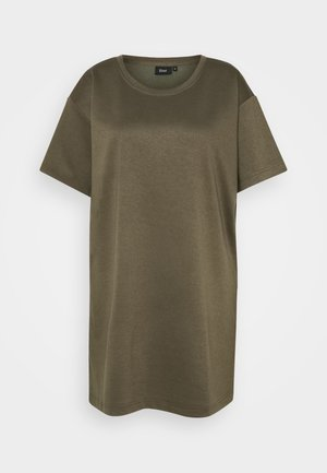 ECINDY TUNIC - Basic T-shirt - wren