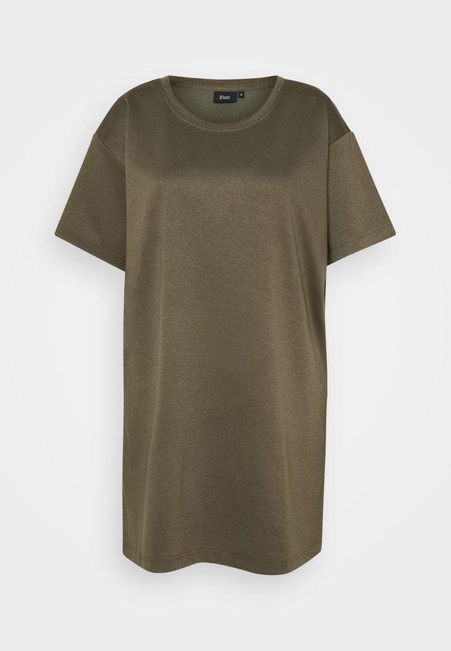 ECINDY TUNIC - T-shirt basic - wren