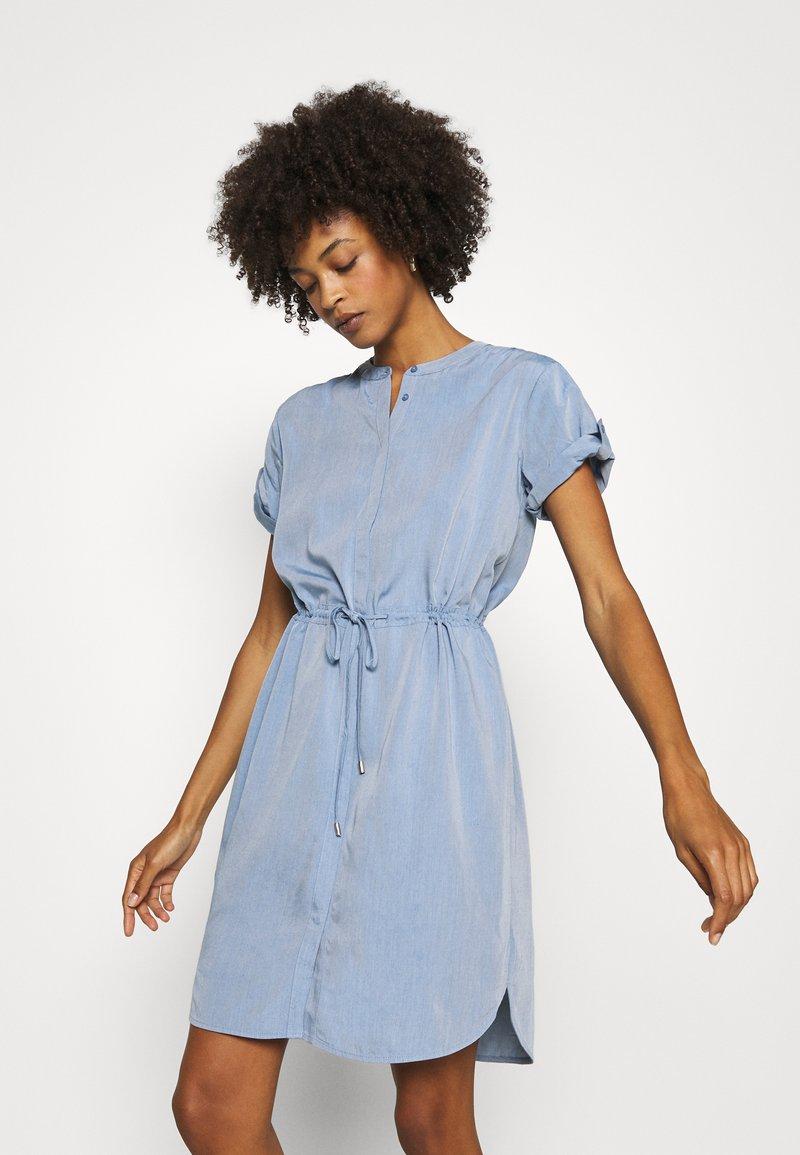 comma - Shirt dress - blue