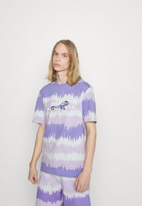 adidas Originals - UNISEX - Print T-shirt - light purple - 0