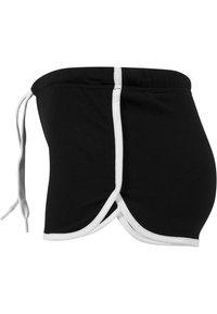 Urban Classics - Shorts - black/white - 3