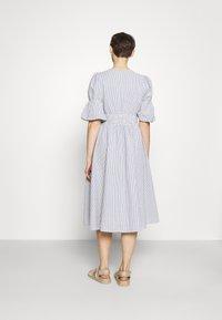 YAS - YASCAMA MIDI DRESS - Shirt dress - dusk blue - 2