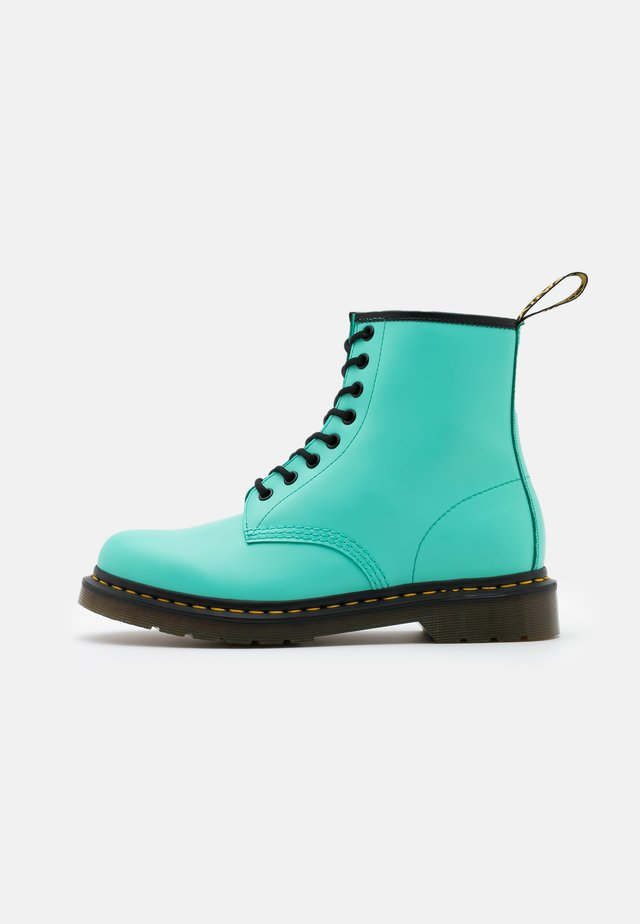 1460 8 EYE BOOT UNISEX - Lace-up ankle boots - peppermint green smooth