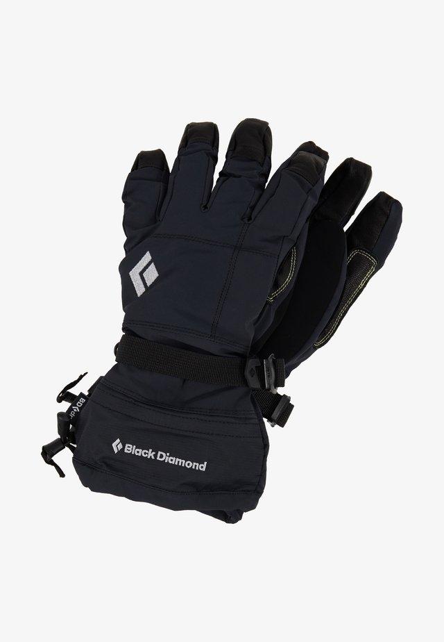 SOLOIST - Rękawiczki pięciopalcowe - black