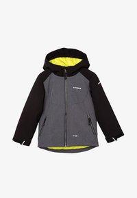 Icepeak - KAPOLEI JR - Soft shell jacket - dunkel grau - 0