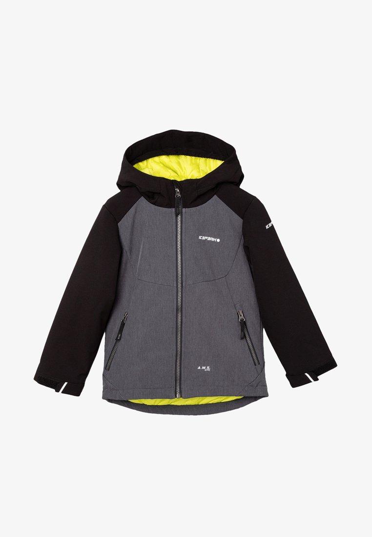 Icepeak - KAPOLEI JR - Soft shell jacket - dunkel grau