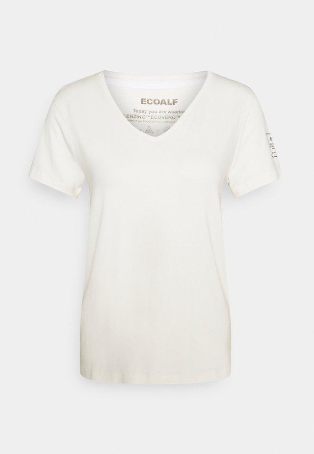 ESPOT  - T-shirt con stampa - offwhite