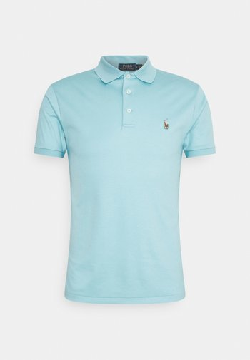 SLIM FIT SOFT - Polo shirt - french turquoise