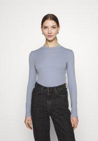 Monki - Long sleeved top - blue light - 0