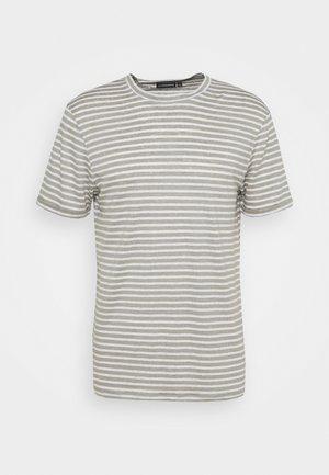 COMA STRIPE - Camiseta estampada - sage
