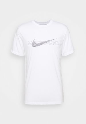 TEE PRO - Camiseta estampada - white
