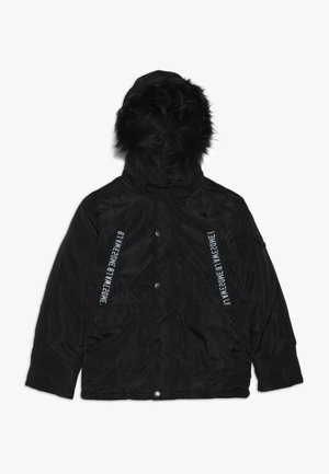 TEEN BOYS JACKET - Winter jacket - black
