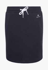 GANT - GANT LOCK UP SKIRT - Mini skirt - evening blue - 3