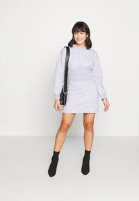 Missguided Petite - CORSET DRESS - Vestido informal - grey marl - 1