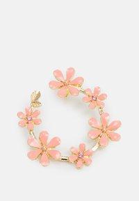 ONLY - ONLDORI FLOWER EARRING - Náušnice - pink lemonade - 2