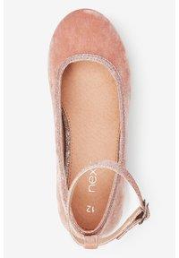 Next - MARY JANE HEELS (OLDER) - Ankle strap ballet pumps - pink - 1