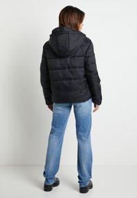 Pepe Jeans - DUA LIPA X PEPE JEANS - Vinterjakke - black - 2