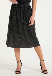 myMo at night - A-line skirt - schwarz - 0