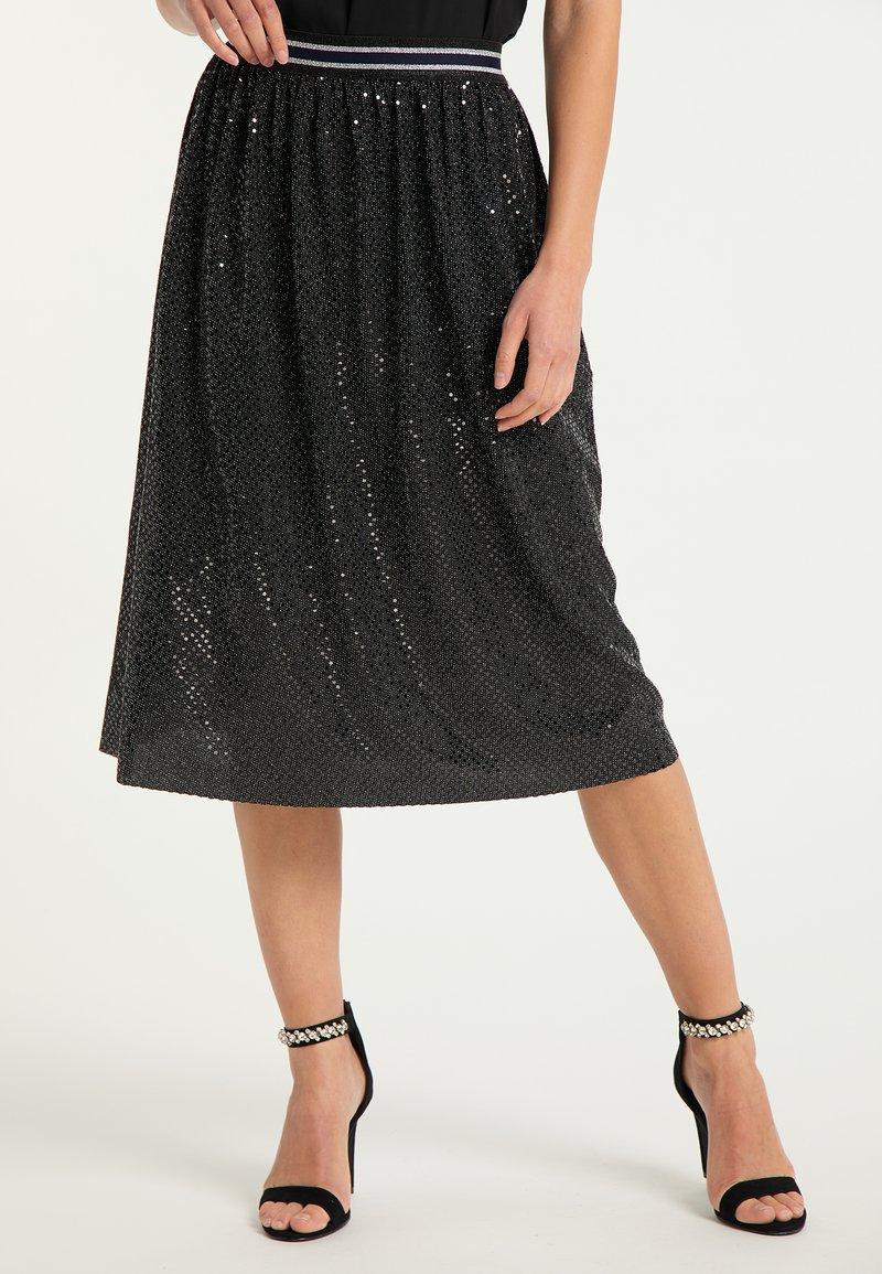 myMo at night - A-line skirt - schwarz