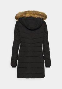 TOM TAILOR - SIGNATURE PUFFER COAT - Winter coat - deep black - 1