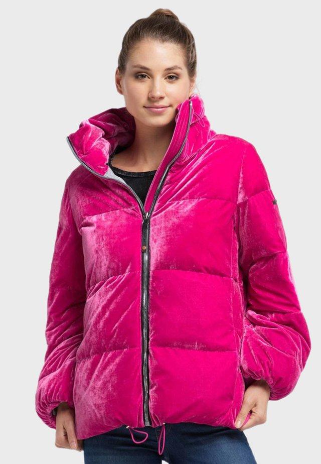 Winter jacket - magenta