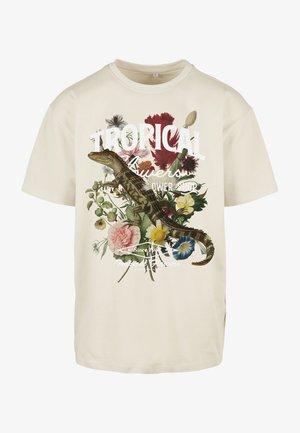 T-shirt print - sand