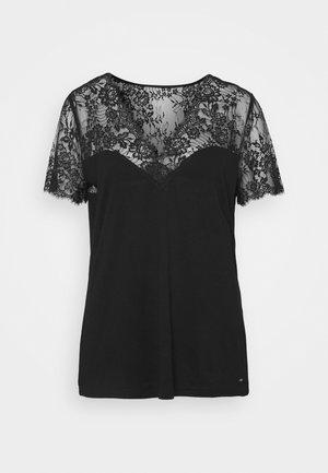 DVOLA - Print T-shirt - noir
