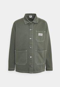 WORK JACKET UNISEX - Denim jacket - olive