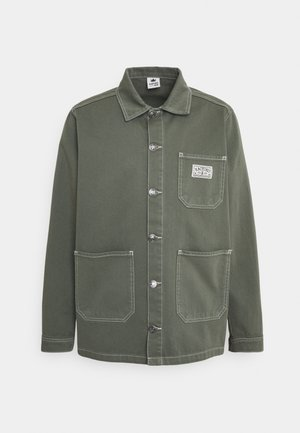 WORK JACKET UNISEX - Denim jacket - olive