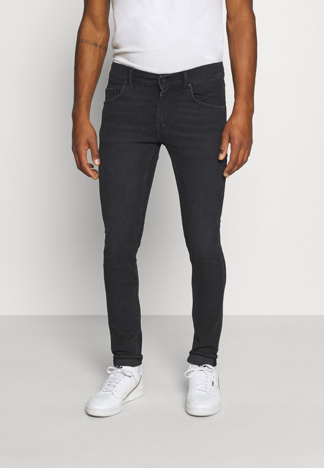 SLIM - Jean slim - black denim
