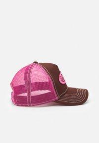 Von Dutch - UNISEX - Cap - dark brown/pink - 2