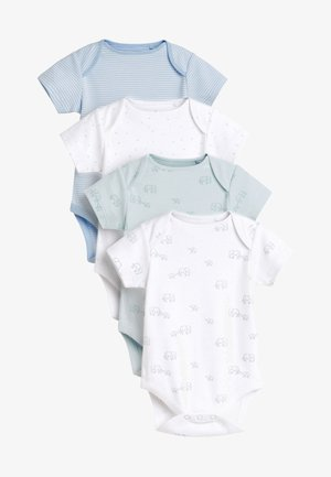 4 PACK DELICATEELEPHANT - Body - white