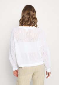 Hollister Co. - FASHION GRAPHIC - Jumper - white - 2