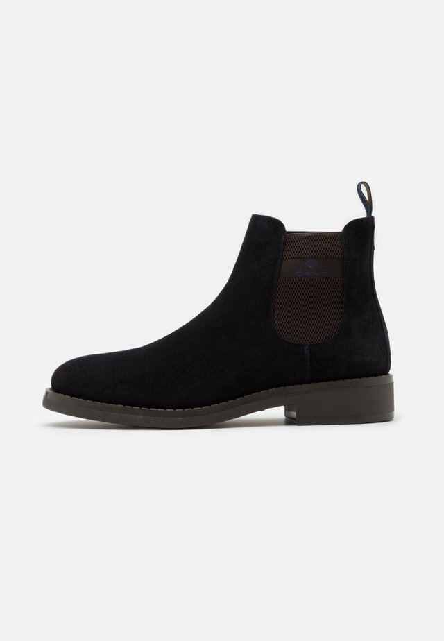 BROOKLY - Classic ankle boots - marine