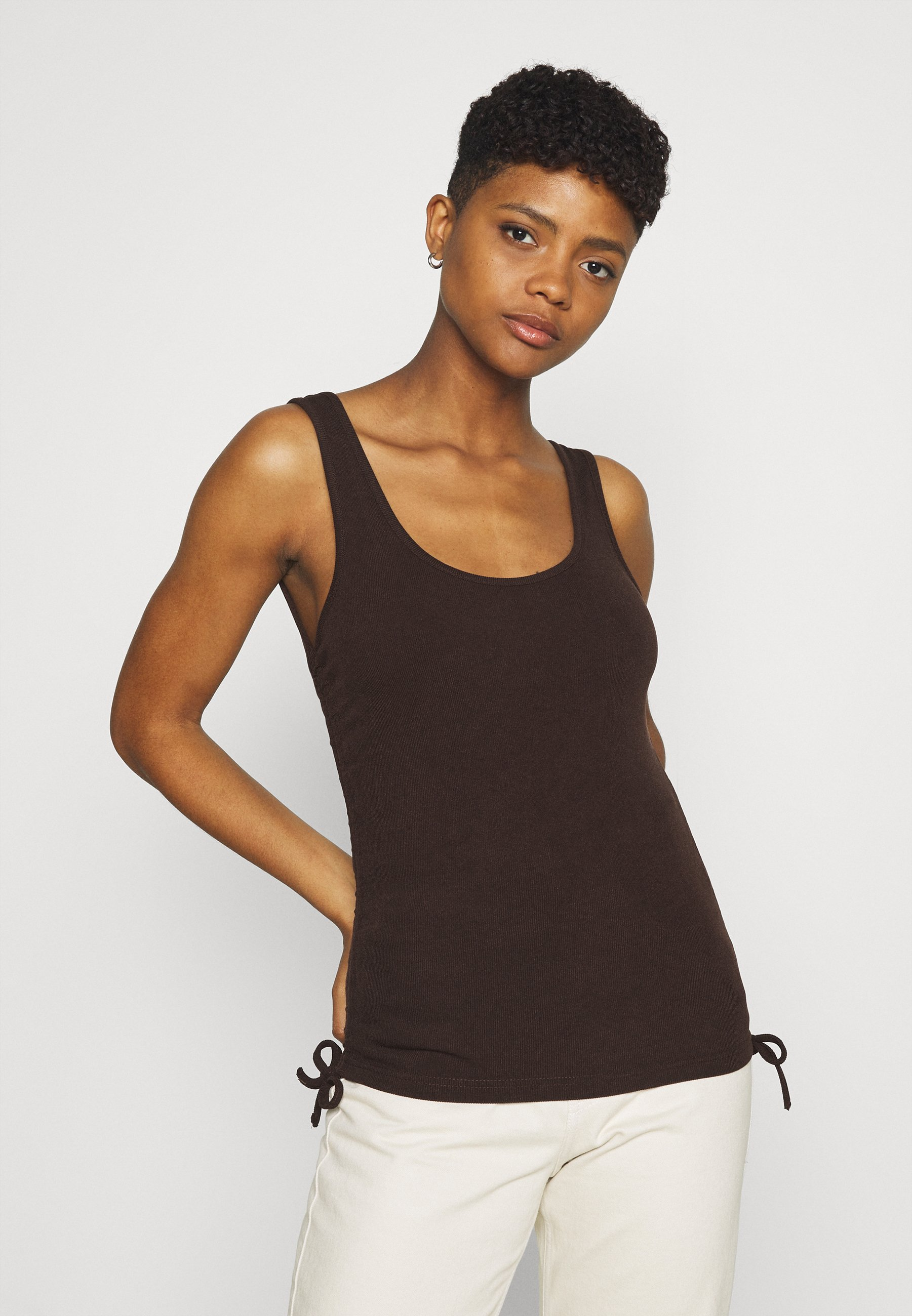 Women ANNOUSHKA RUCHED SIDE - Top