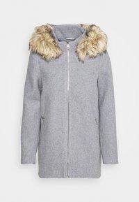 Vero Moda - VMCOLLARYORK COLLAR JACKET - Classic coat - light grey melange - 5