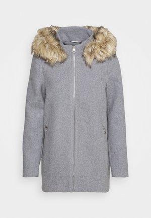 VMCOLLARYORK COLLAR JACKET - Classic coat - light grey melange