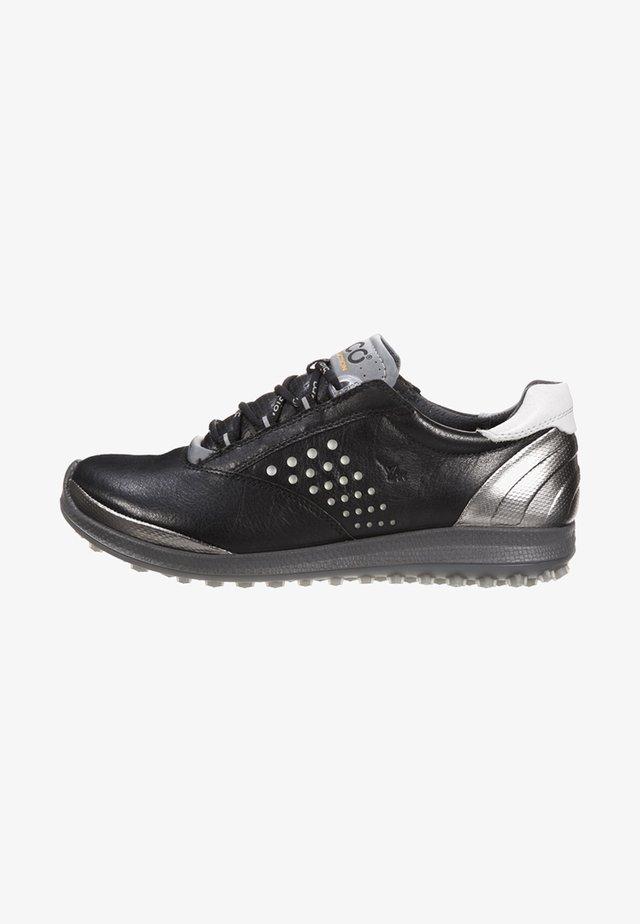 BIOM HYBRID 2  - Zapatos de golf - black/silver