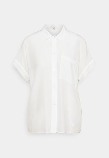EASY FIT - Button-down blouse - whisper white